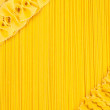 Set of raw pasta and spaghetti — Stock Photo