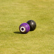 Lawn bowls — Stock Photo
