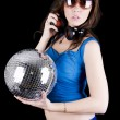 Stockfoto: Young woman with headphone (7)