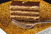 Opera cake — Stock Photo