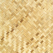 Native Thai style bamboo wall — Stock Photo