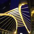 Pubic skywalk at bangkok downtown square, thailand — Stock Photo