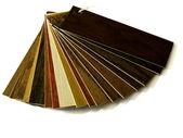 Ukázka balení dřevěných podlah — Stock fotografie