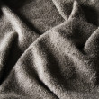 Grey towel — Stock Photo