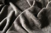 Grey towel — Stock Photo