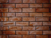 Bstract close-up brick wall — 图库照片