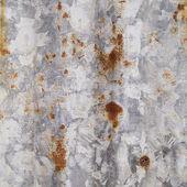 Rust on the galvanized steel — Stock Photo