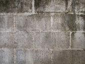老空心砖墙 — 图库照片