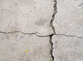 Cracked concrete texture — Stock Photo