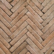 Stock Photo: Contemporary herringbone pattern brickwall
