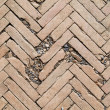 Herringbone brick pattern — Foto Stock #12097701