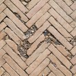 Herringbone brick pattern — Stock fotografie #12097701