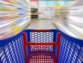 Fast shopping — Stock Photo