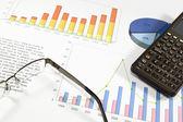 Análise financeira — Fotografia Stock
