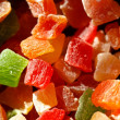 Candied fruit — Stock Photo