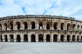 Arènes de nîmes, amphithéâtre romain historique, provence, france. — Photo