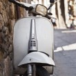 Old white vespa — Stock Photo #10759288