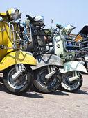 Old Vespa scooter — Stock Photo
