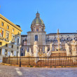 Royalty-Free Stock Photo: Square shame in Palermo hdr