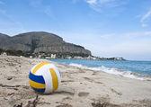 Pláž mondello, palermo, sicílie — Stock fotografie