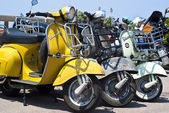 Vespa скутеры — Стоковое фото