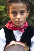 Child sicilian folk — Stock Photo