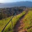 Stock Photo: Oceview from Castle Hill track Townsville