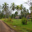 Stock Photo: Village in PapuNew Guinea