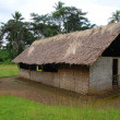 Stock Photo: Village church in PapuNew Guinea
