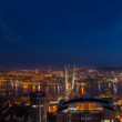 Vladivostok night cityscape — Stock Photo