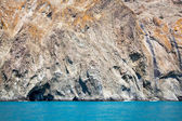Mountain on the black sea — Stock Photo