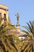 "Virgin Mary ""La Mercé"" Statue. Barcelona, Spain. — Stock Photo"