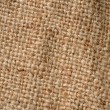 Burlap weave detail — Stock Photo