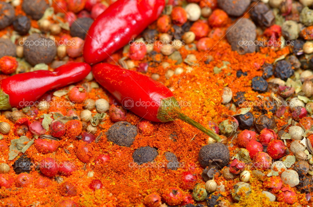 Colorful spices — Stock Photo #10819894
