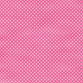Bright Pink Polka Dot Seamless Background — Stock Photo