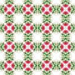 Seamless Roses Kaleidoscope Pattern — Stock Photo #11901264