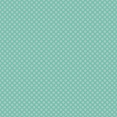 Seamless Turquoise Polkadots — Stock Photo