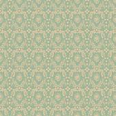 Seamless Soft Green Damask — Stock Photo