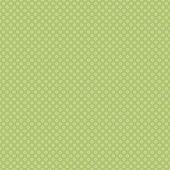 Polkadots verde suave sem emenda — Fotografia Stock