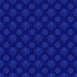Rich Blue Damask Pattern — Stock Photo