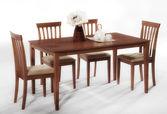 Mesa de comedor aislado — Foto de Stock