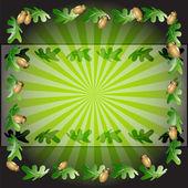 Folhas de fundo — Vetorial Stock