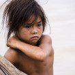 Poverty Girl — Stock Photo