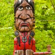 Indian totem - Stock Photo