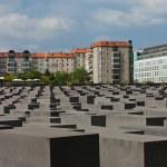 Jewish Holocaust Memorial, berlin germany — Stock Photo #11296033