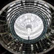 Norman foster dome Reichstag  berlin germany - Stock Photo