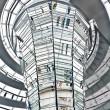 Stock Photo: Dome Reichstag berlin germany