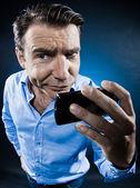 Man Portrait Doubtful — Stock Photo