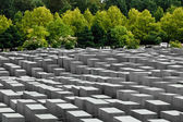 Jewish Holocaust Memorial, berlin germany — Stock Photo