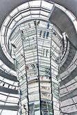 Dome reichstagu berlín německo — Stock fotografie